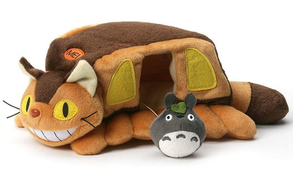 Cat But House with Totoro
