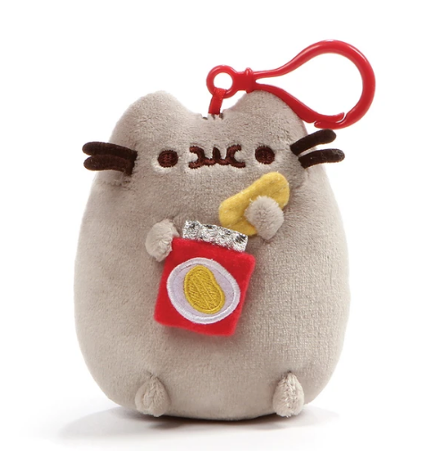 Pusheen Potato Chips Backpack Clip