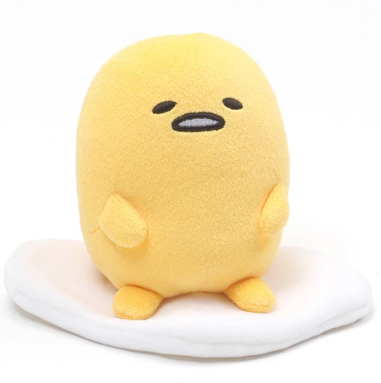 Gudetama Sitting Plush 6