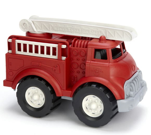 Green Toys Fire Truck - Red