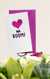 Ba Boom! - Mini Notecard