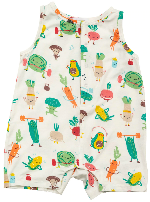 Veg-Ersize Sleeveless Shortie Romper