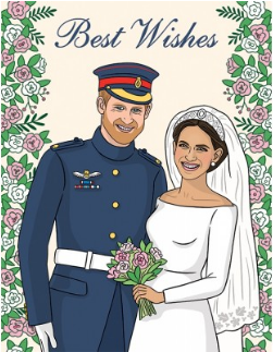 Royal Wedding - Wedding Card