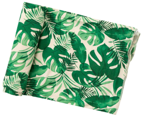 Monstera Deliciosa Swaddle Blanket