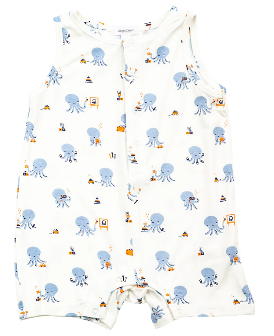 Octopus Playtime Sleeveless Shortie
