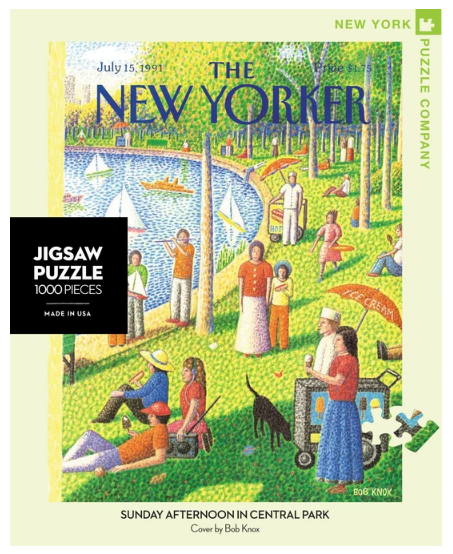 Sunday Afternoon in Central Park 1000 pc Puzzle