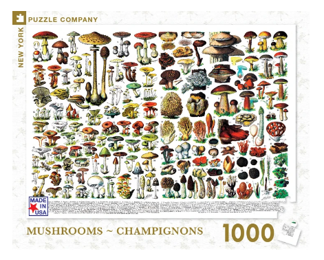 Mushrooms - Champignons 1000 pc Puzzle