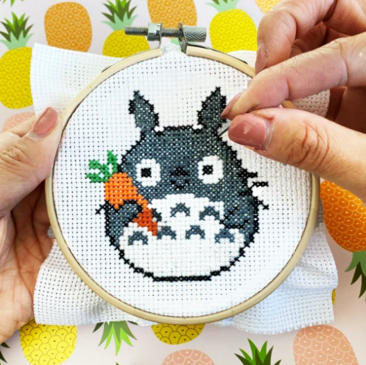 Cross Stitch Kit Totoro