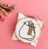 Cross Stitch Kit - Pusheen