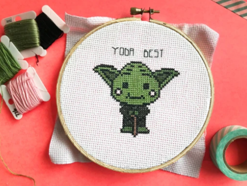 Cross Stitch Kit - Yoda