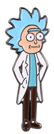 Tiny Rick - Rick and Morty Pin