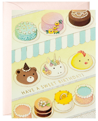 Pastry Shop - Birthday Card