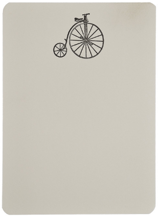 Penny Farthing - Folio Boxed Notecard Tails