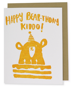 Happy Bear-thday - Birthday Card