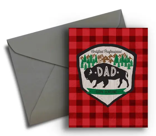 Outdoor Dad - Father's Day Card