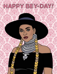 Happy Bey-Day - Birthday Card