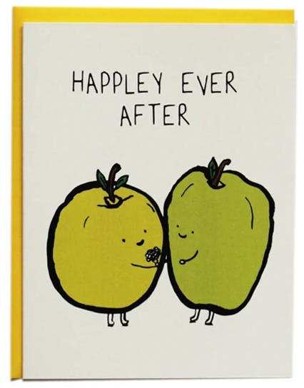 Happley Ever After - Wedding Card