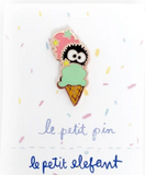 Soot Ball Ice Cream Enamel Pin