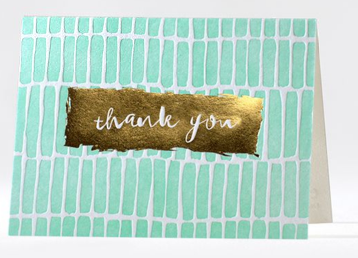 Swatches - Boxed Thank You Cards