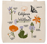 California Wildflowers Tote