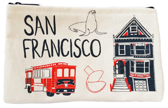 San Francisco Everyday Pouch