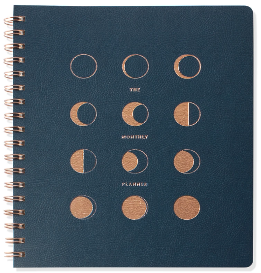 Moon Phases Perpetual Planner