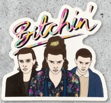 Eleven Bitchin' Sticker
