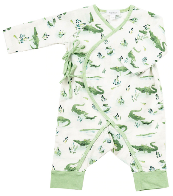 Wrap Coverall Gators 3-6m