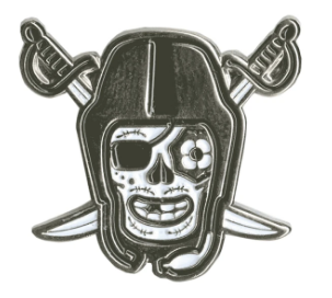 Raiders Enamel Pin