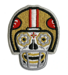 9er Embroidered Patch