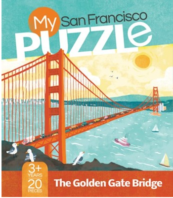 My San Francisco Puzzle 20 pc
