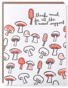 Morel Support - Thank You Card