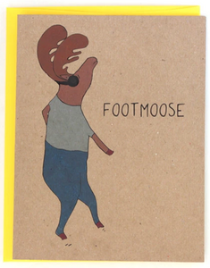 Footmoose - Humor/Non-Occasion Card