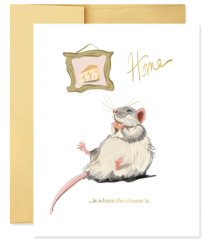 Where the cheese is - New Home Card