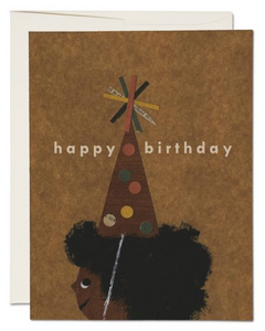 Afro Birthday - Birthday Card