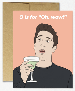 Ross Oh Wow! - Congratulations Card