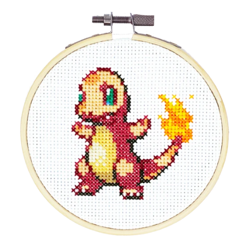 Charmander Cross Stitch Kit