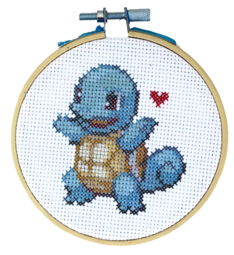 Squirtle Cross Stitch Kit