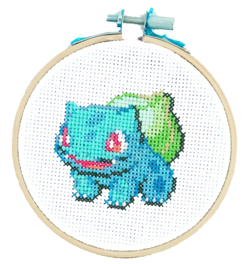 Bulbasaur Cross Stitch Kit