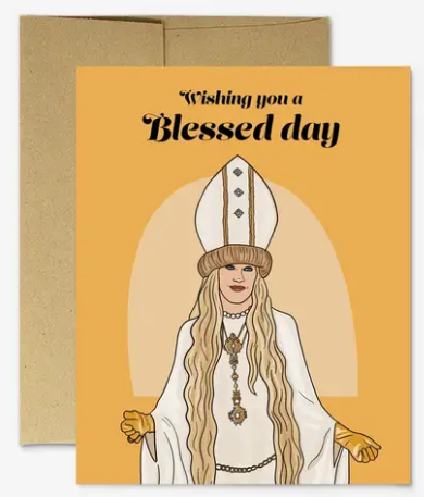 Moira Blessed Day - Wedding Card