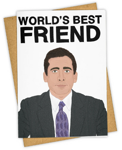 World's Best Friend - Friendship Card