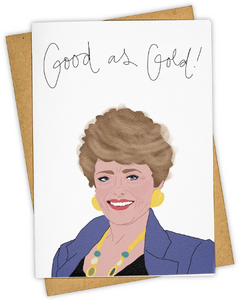 Good as Gold - All Occasion/Congratulations Card