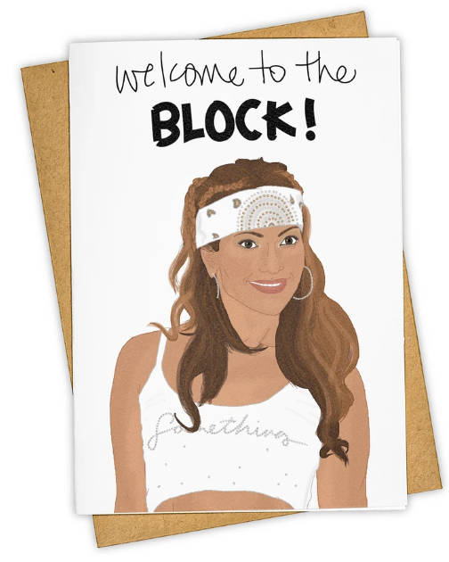 Jenny from the Block - New Home Card