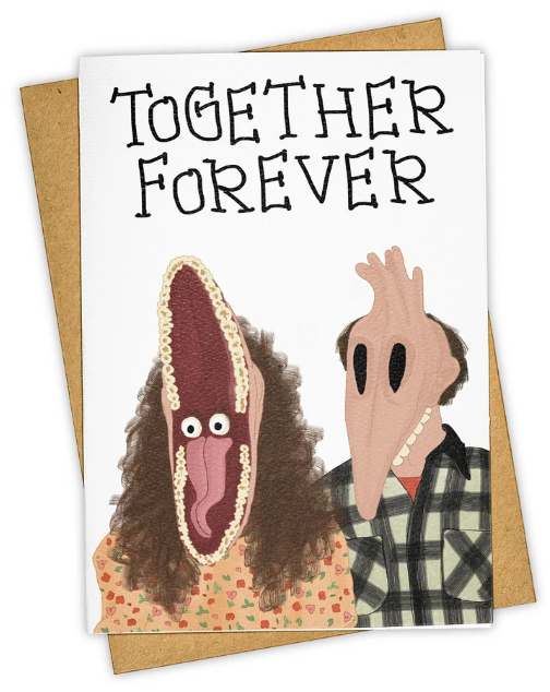 Beetlejuice Card- Anniversary/Love Card
