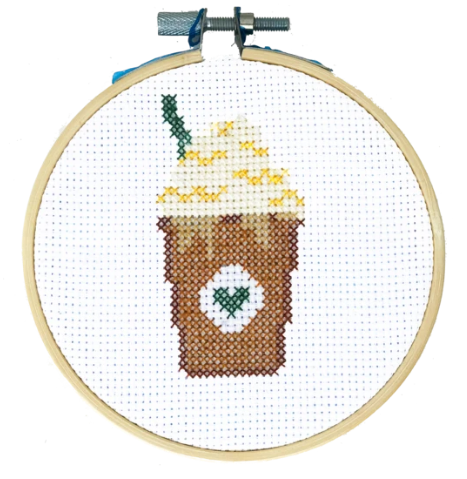 Starbucks Frappucino Cross Stitch Kit