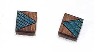 Square Triangle Wooden Studs