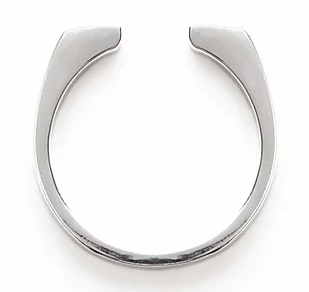 Sterling Horseshoe Ring