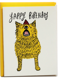 Yappy Birthday - Birthday Card