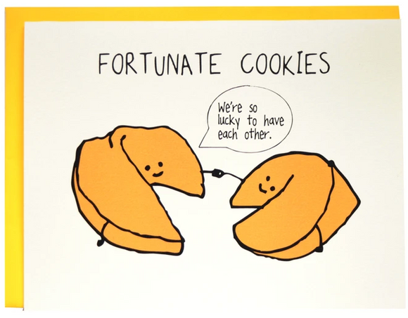 Fortunate Cookies - Love / Anniversary Card