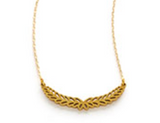 Laurel Brass Necklace